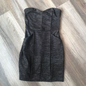 Dresses & Skirts - Black and Silver Mini Dress with POCKETS